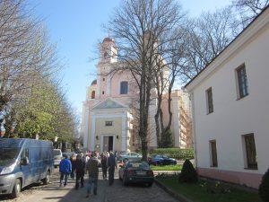 Вилнюс - храм Св. Дух