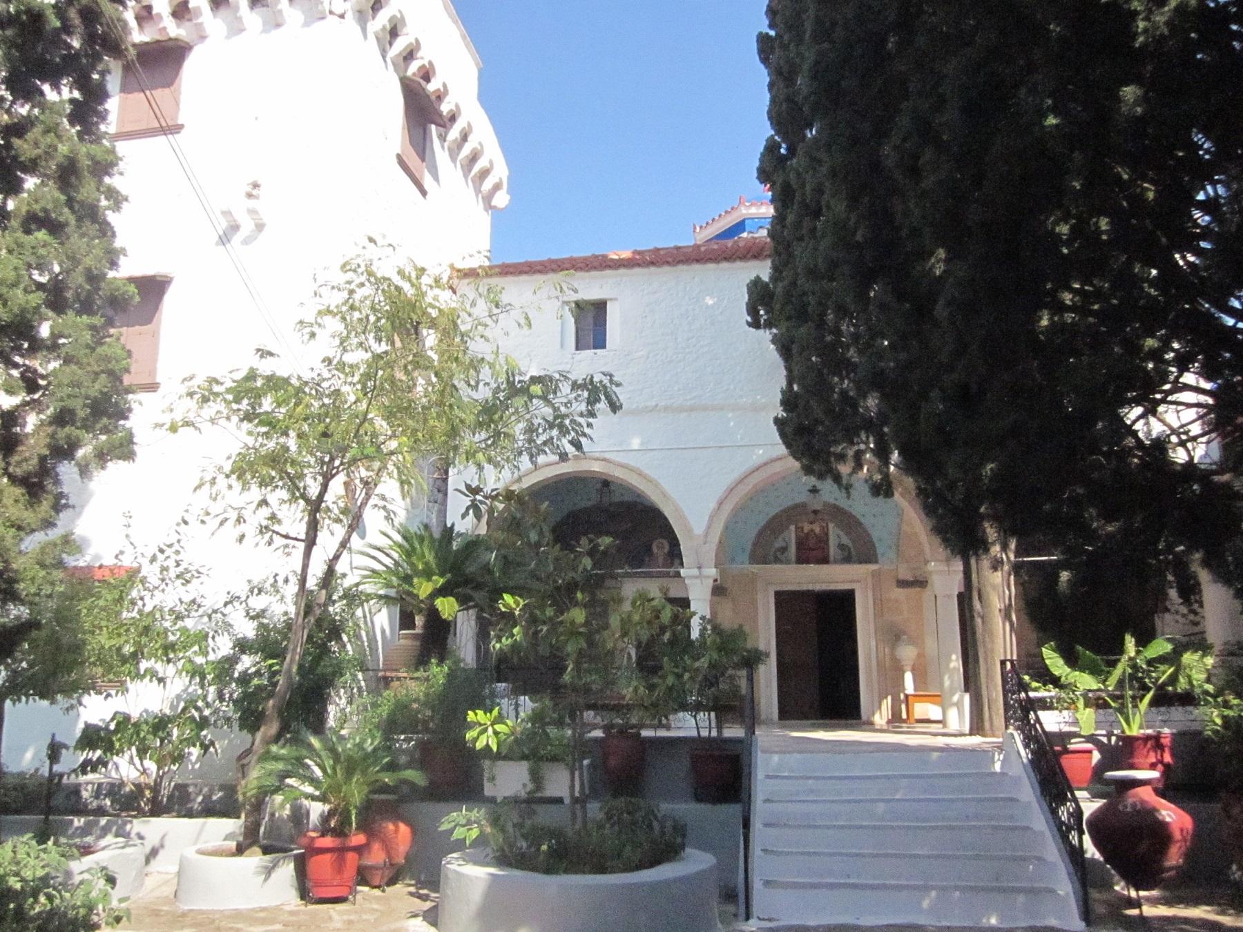 Манастира Христолеонтиса - о. Егина