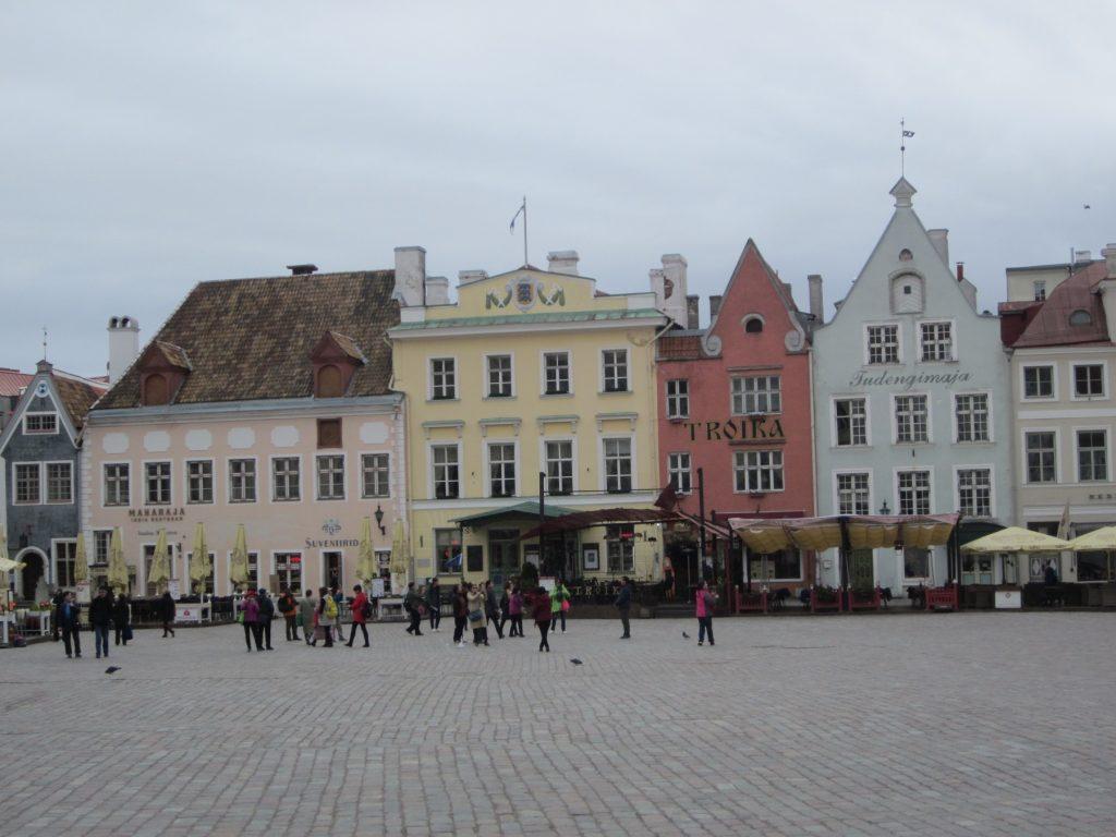 Талин - площада пред кметството