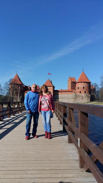 Пред замъка Тракай