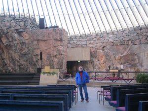 Скалната църква Temppeliaukio