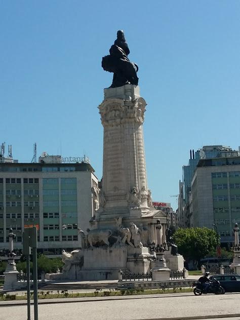 Паметника на Маркиз де Помбал Лисабон